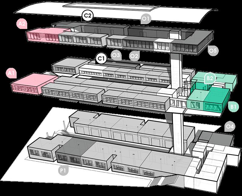 BIC Arabako eraikinaren planoa